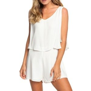 Roxy Festi Face Sleeveless Layered Romper SMALL